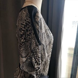 A Pea in the Pod Dresses - Rachel Zoe Maternity Maxi Dress Snake Print Sz L
